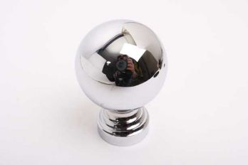 Bol rond 60mm blinkend chroom