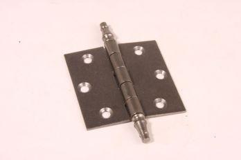 Deurscharnier tinkleur 76mm x 76mm of 3 duims met vaaskop