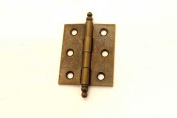Scharnier Brons Antiek 50x40mm (ook 63x45mm en messingkleurig)