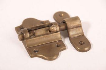 Schuif Brons Antiek 40mm met aanslag