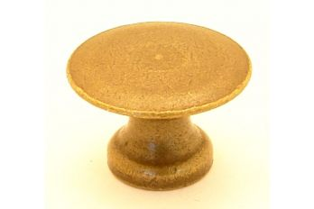 Knop brons antiek 22mm