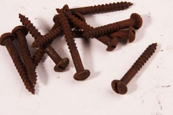 Schroeven bolkop 4.0 x 30mm roest gleuf 100 stuks