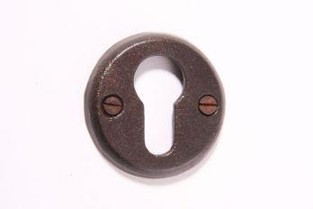 Rozet voor cilinderslot roest, tinkleur of zwart.