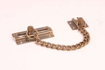Deurketting voordeur Brons Antiek 76mm