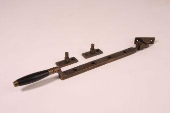 Raamuitzetter ton-model brons antiek ebbenhout 33cm - 8mm