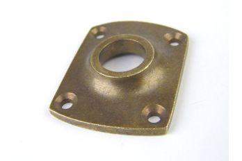 Rozet o.a. brons antiek 37 mm
