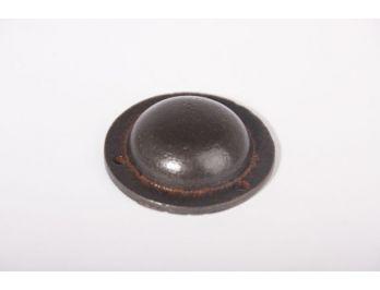 Afdekkapje rond 42mm als moerdop voor bouten en moeren roest of zwart