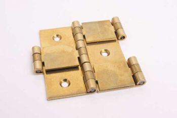 Kamerscherm scharnier twee kanten vouwbaar massief messing 60mm x 37mm
