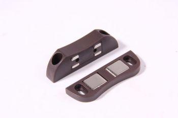Magneetsnapper bruin 3 kg voor het sluiten van deuren
