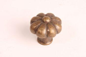 Klassieke knop antiek brons kroon 39mm