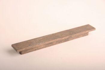 Greep hout 192mm lichte kleur