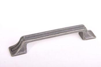 Meubelgreep en keukengreep voor lades en deurtjes antiek grijs 128mm