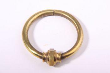 Greep Mechelse ring Messing Polijst 55mm