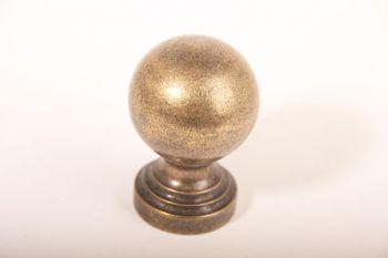 Bol rond 50mm en andere maten brons antiek