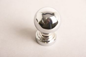 Bol rond 50mm blinkend chroom