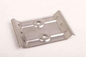 Tafelplaat-hoek 85mm dubbel gat per 4 stuks met stokeind en moer