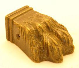 Leeuwenpootje siervoet brons antiek 67mm