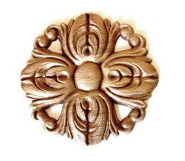 Ornament - Beuken rozet 85 mm