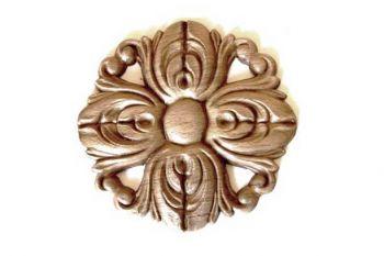 Ornament - Beuken rozet 130  mm