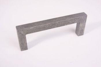 Greep robuust vierkant antiek grijs 205mm