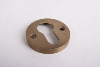 Ronde cilinderrozet voor profiel cilinder brons antiek rond 45mm