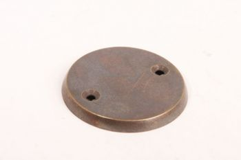 Rozet rond blind brons antiek, geborsteld nikkel, blinkend nikkel of antiek zilver
