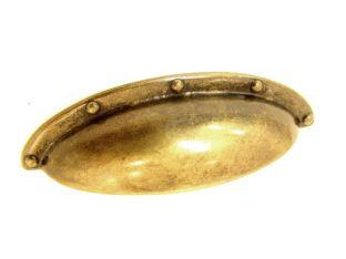 Komgreep o.a. brons antiek, zwart, geborsteld nikkel, nikkel en oud zilver 64mm