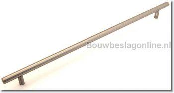 Stangegreep RVS 860mm - boormaat 800mm + M4x50