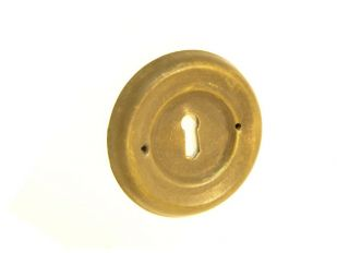 sleutelplaat Brons Antiek 62mm