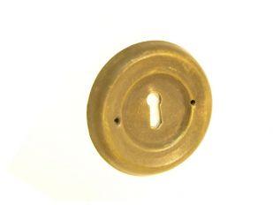 sleutelplaat Brons Antiek 65mm