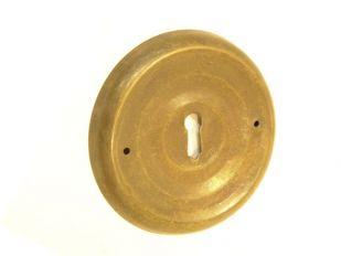 sleutelplaat Brons Antiek 80mm