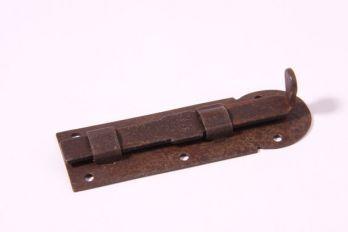 Schuifje Roest 80mm recht