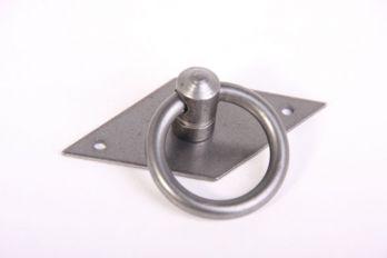 Ringgreep tinkleur 36mm met ruitvormig achterplaat 35mm