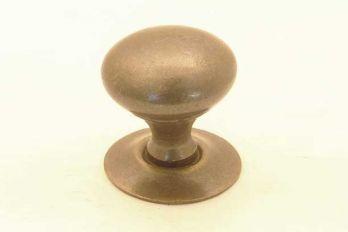 Rond knopje voor klassieke meubelen brons antiek 19mm