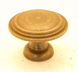 Knop brons antiek 30mm