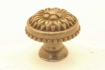 Knop klassiek brons antiek rond 24mm, 27mm of 30mm