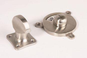 De WC-Sluiting tonmodel is gemaakt van massief messing met een kleurafwerking van geborsteld nikkel, blinkend nikkel of blinkend chroom.