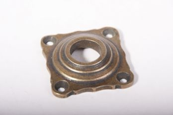 Rozet brons antiek 42mm