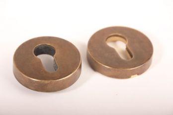 SKG*** profiel-cilindersloten veiligheidsbeslag Brons Antiek