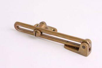 Raamval brons antiek 125mm