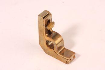 Trap roede houder 10mm brons antiek