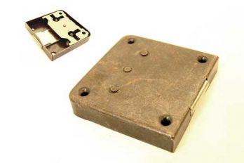 Slot opdek brons antiek 35 t/m 80 mm zowel links als rechts