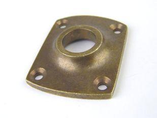 Krukrozet brons antiek, roest, zwart of tinkleur 37 mm