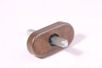 Draai kiep mechanisme brons antiek