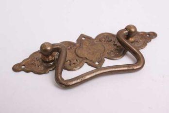 Klassieke greep voor lades brons antiek 105mm