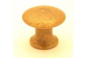 Knop brons antiek 15mm