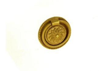 Greep/trekker klassiek in de Neo-classicistische stijl brons antiek 45mm