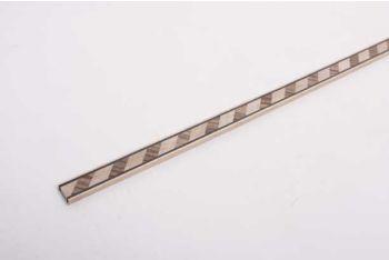 Houten fineerstrip voor marquetrie diagonaal licht en donker hout