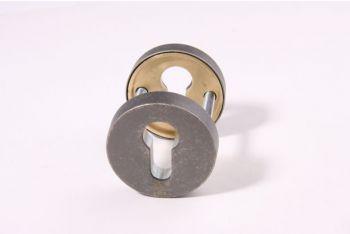 SKG*** profiel-cilindersloten veiligheidsbeslag antiek grijs - zilver antiek