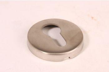 Cilinderrozet voor profielcilinder RVS rond 54mm